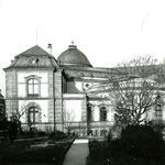 Die Universitätsbibliothek an der Schanzenstrasse, 1958