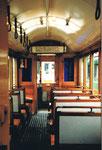 Innenaufnahme des Trammotorwagens Be 2/2 Nr.190 im Jahre 1989