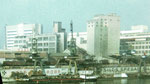 Gesamtansicht des Hafens St.Johann mit Chemiewerk Durand&Huguenin, 1972