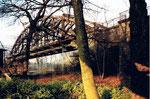 Stimmungsbild der grossen DB-Wiesenbrücke im Jahre 1985
