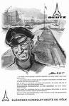 Inserat der «Klöckner-Humboldt-Deutz AG Köln» in der Zeitschrift «Strom und See» 1964