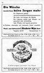 62) J.Rinderer-Wyss Wasch-& Glätteanstalt   /    Blumenhaus W.Zimmermann