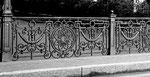 Das wunderschöne der Geländer Johanniterbrücke, 1960