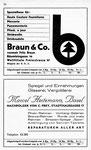 30) Braun&Co Haute Couture, Mercerie   /    Marcel Heitzmann Glaserei, Spiegel