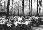 Konzerte und Waldfeste mit Tombola im Erlenpark in den 50-er und 60-er Jahren