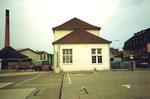 Die Fabrikations-Gebäude der Basler Stückfärberei, 1984