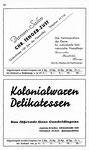 60) Damen-Salon Chr.Tenger-Züst   /    Kolonialwaren Assfalg
