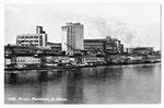 Ansichtskarte 6720 Basel. Rheinhafen St.Johann (Rud.Suter Oberrieden ZCH)