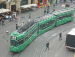 Be 4/6 Nr.678 der Linie 16 an der Haltestelle Barfüsserplatz, 2017