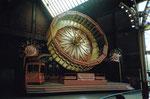 Die Herbstmesse Basel mit der Bahn «Rund Up» in der Halle 7 (jetzige Musical-Halle), 1986