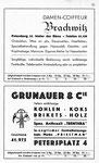 25) Brachwitz Damen-Coiffeur  /   Grunauer Kohlenhandlung