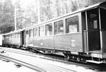 Personenwagen der Waldenburger-Bahn, 1969