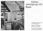 Inserat der «Kohlenversorgungs AG Basel» in der Zeitschrift «Strom und See» 1964