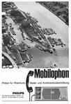 Inserat der «Philips Telekommunikation» in der Zeitschrift «Strom und See» 1964