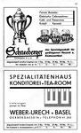 17) Schneeberger Hausrat  /   Weber-Urech Konditorei