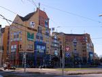 Das Einkaufszentrum «Marktkauf» in Friedlingen - Weil am Rhein, 2014