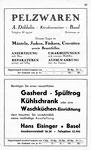 33) Pelzwaren Döbbelin   /    Hans Eisinger Gasherd, Kühlschrank