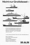 Inserat der «MAN Werk Augsburg» in der Zeitschrift «Strom und See» 1964