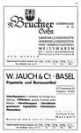 11) R.Bruckner Sohn Damen-& Herrenstoffe  /   W.Jauch & Cie Papeterie