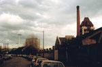 Der Schlachthof Basel in der Mülhauserstrasse, 1984