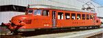Der legendäre «Rote Pfeil» der SBB (RBe 2/4 Nr.1005) weilte im Jahre 1985 zu Besuch in Basel im Güterbahnhof Wolf.  Foto:SBB