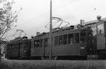 Die Dienstfahrzeuge Nr. 2017 und Nr. 2060 hinter dem Depot Wiesenplatz im Jahre 1972