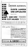 52) Gebr.Wirz Elektr.Anlagen   /    Kinderwagen A.Groh