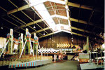 Ein weiters Foto von der Herbstmesse in der einstmals grossen Halle 6 im Jahre 1983
