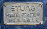 Damaliger Eigentümer der Dampfwalze im Verkehrshaus in Luzern