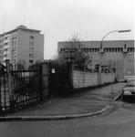 Geleisezufahrt zum Schlachthof Basel, 1980 (hier wurden alle Tiere die geschlachtet wurden ausgeladen!!)