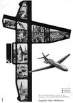 Inserat des «Flughafens Basel-Mülhausen» in der Zeitschrift «Strom und See» 1964