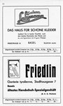 12) Maisin Lehmann Kleider und Friedlin Handschuh-Spezialgeschäft