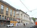 Der Umbau und die Renovation des Musiksaals mit dem neu zu schaffenden Durchgang zum Barfüsserplatz, Mai 2017