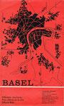 Der Offizielle Stadtplan von Basel-Stadt von 1963