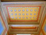 Detailaufnahme der Eingangs-Decke des 1913-1917 erbauten «Natur- und Völkerkunde-Museumsgebäude« an der Augustinergasse, Mai 2017