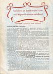 Die Statuten des Anteilschein-Bogens im Jubiläumsjahr des MIGROS-Genossenschafts-Bundes 1950