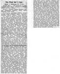National Zeitung, Saison 1941/1942 Bericht zum Fussballspiel FC Basel - Fribourg