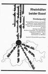 Inserat der Rheinhäfen beider Basel im Offiziellen Stadtplan von Basel 1963