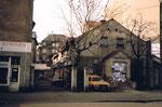 Das Cinema Union, Hinteransicht am Claragraben 1988