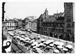 Ansichtskarte S 5103 Basel. Marktplatz (Verlag Beringer & Pampaluchi Zürich)