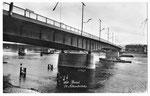 Ansichtskarte 200 Basel. St.Albanbrücke (Verlag E.Banholzer & Co Binningen)