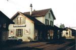 Der Bahnhof Dornach-Arlesheim im Jahre 1982