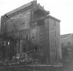Der Abbruch der Gaskokerei in Kleinhüningen, 1975
