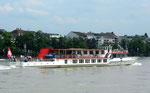 Das Personenschiff «Lällekönig« der BPG, 2013