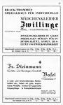 37) Mädchenkleider Zwillinge   /    Fr.Steinmann Sanitätsgeschäft