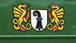 Das alte, schöne und immer noch das beste BVB-Signet am Trammotorwagen Be 2/2 Nr.190
