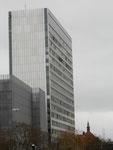 Das Hochhaus der Novartis (1963/64 für die CIBA erbaut)