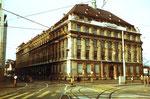 Das Gebäude der Basler Versicherungsgesellschaft (später Börse, dann Redaktion der BaZ) 1980
