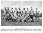 National Zeitung, Bild zum Spiel FC Basel - Fribourg, 1942
