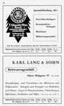 44) Matthäus Drogerie   /    Karl Lang&Sohn Bettwaren